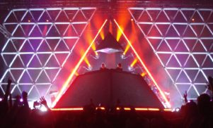 Watch the unveiling of Daft Punk's pyramid at Coachella 2006