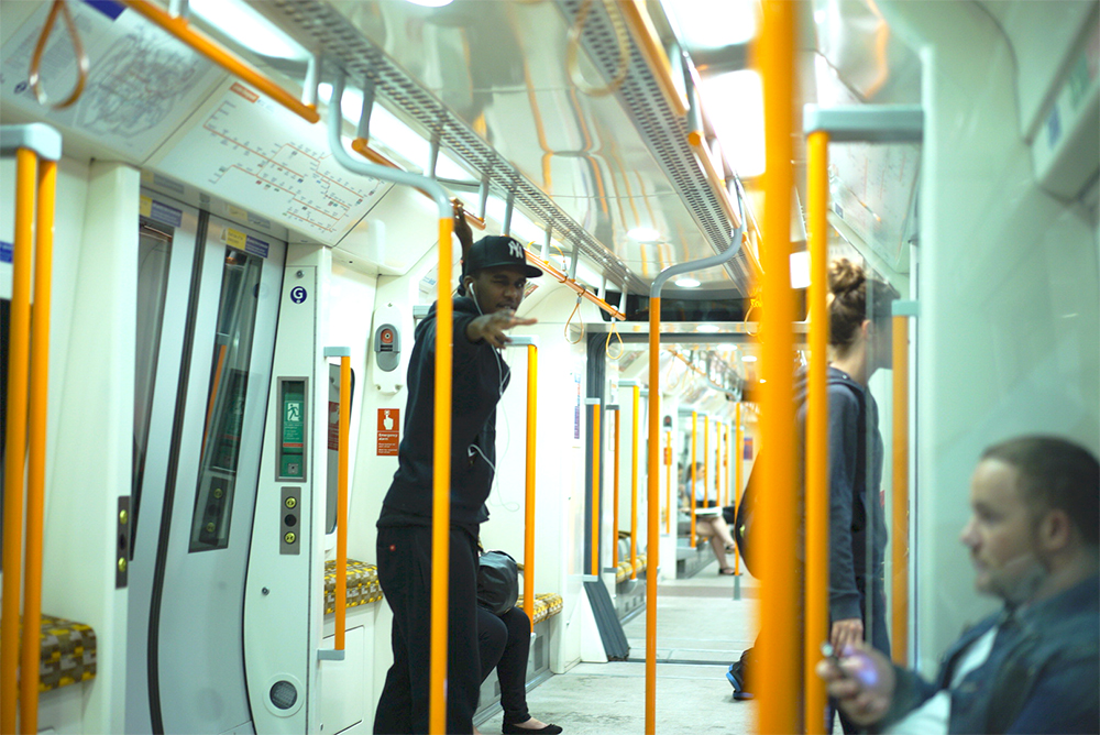 Novelist - En route to Rinse FM, London (Photo by Jun Yokoyama)