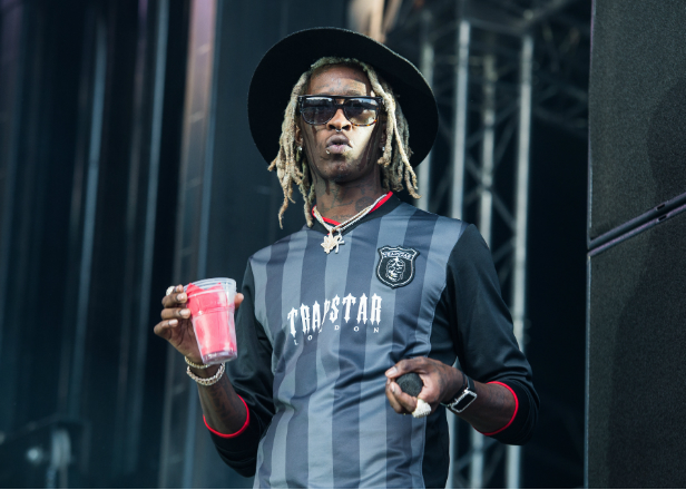 Young Thug working on mixtapes with Migos, Fetty Wap and Post Maloneq