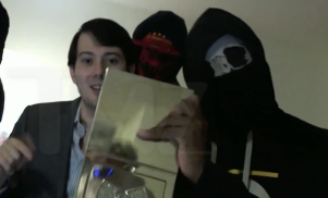 Pharma-douche Martin Shkreli threatens Ghostface in embarrassing diss video