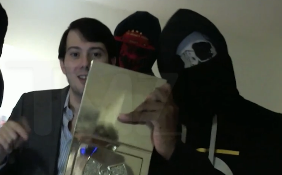 Sad manchild Martin Shkreli threatens to delete Ghostface from Wu-album in awkward diss video