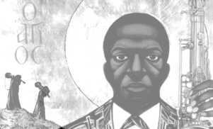 Someone's mashed up John Coltrane and Sunn O)))