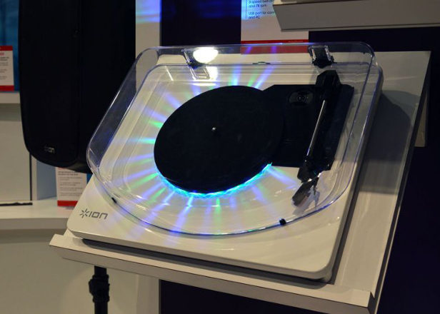 ION Audio reveals two flashing turntables