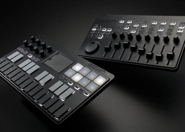 korg unveils new nanokontrol and nanokey controllers. Black Bedroom Furniture Sets. Home Design Ideas