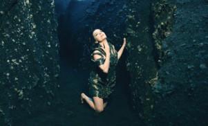 Go behind the scenes of Björk's 'Black Lake' video