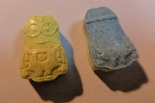 Chilean authorities seize haul of Minions-shaped ecstasy pills