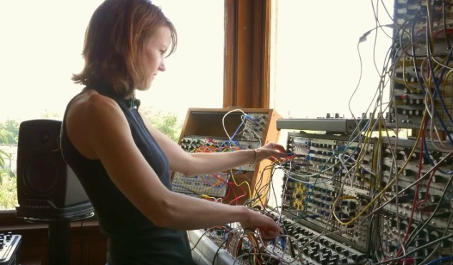 Watch Kaitlyn Aurelia Smith bring her modular orchestra to life