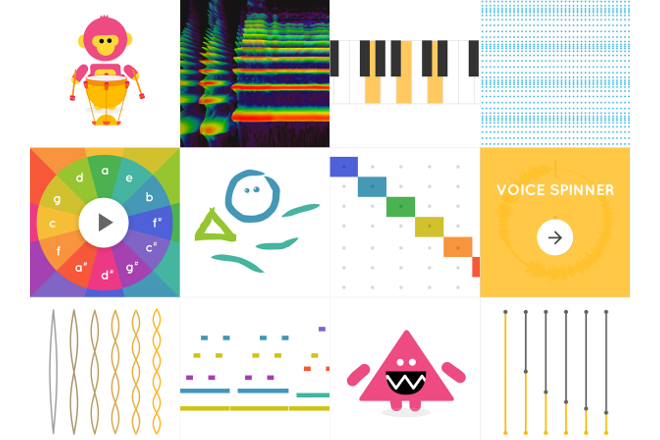 Google's Music Lab is a collection of interactive browser instruments