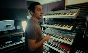 In the studio with Sharooz Raoofi