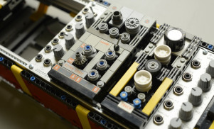 Someone has built a modular synth out of Lego