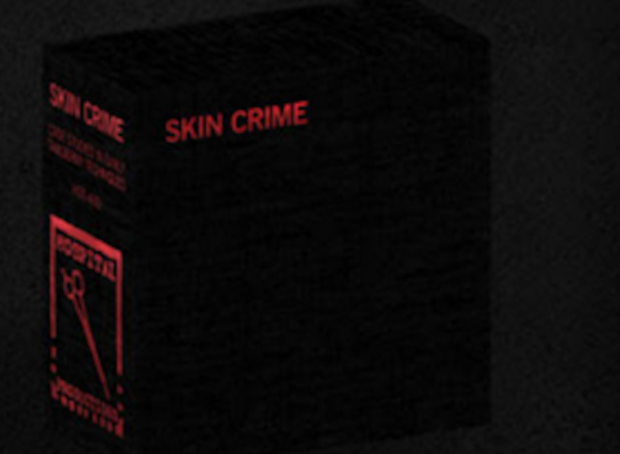 Hospital Productions honor harsh noise project Skin Crime with 20xCD box set