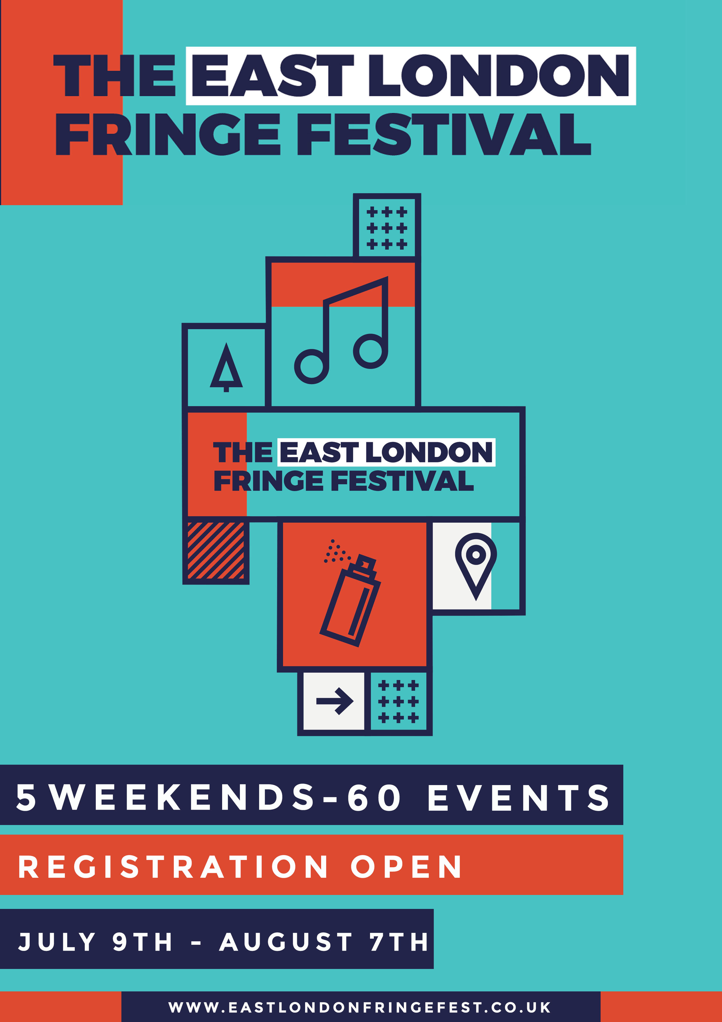 The East London Fringe Festival announces open-air parties with The Hydra and more