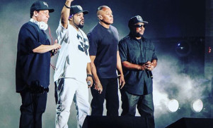 Watch N.W.A. perform together for the first time in 27 years at Coachella