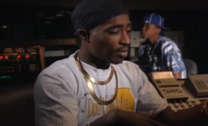 Tupac rails against the greed of Donald Trump in unaired clip from 1992 – watch