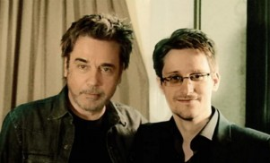 Edward Snowden and Jean-Michel Jarre have made a techno track