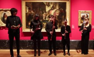 Cat's Eyes gatecrashed Buckingham Palace to perform their new track