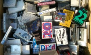 Acid legend Mike Dred shares crate of vintage rave tapes
