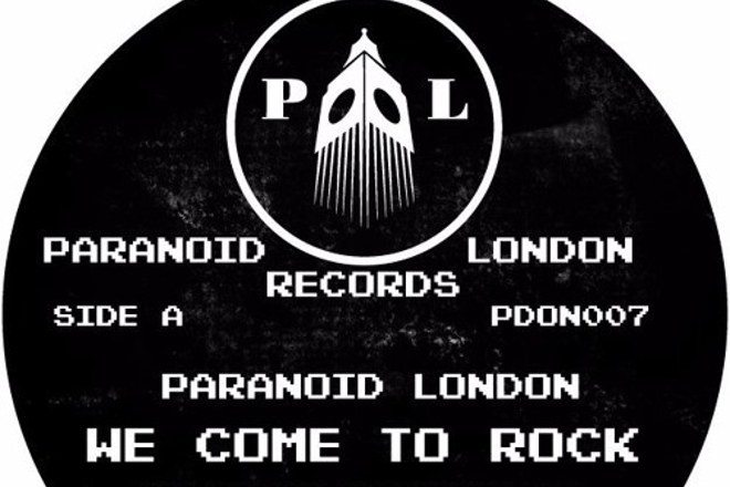 """Paranoid London cover electro classic 'We Come To Rock' on next 12"""""""