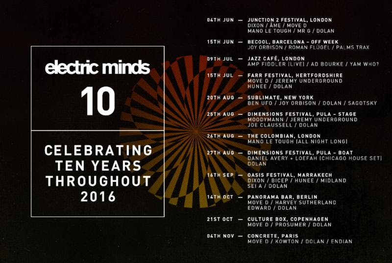 Electric Minds celebrates 10 years with global tour