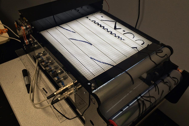 ✎ EDITWatch Daphne Oram's unfinished Mini-Oramics synth in action over 40 years after it was designed