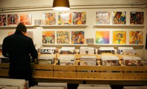 Vinyl sales at their highest point since the '80s