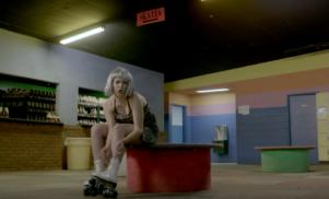 Angel Olsen is queen of the roller rink in 'Shut Up, Kiss Me' video
