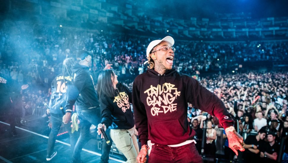Taylor Gang and Wiz Khalifa at Red Bull Culture Clash at The O2 Arena in London, June 17, 2016