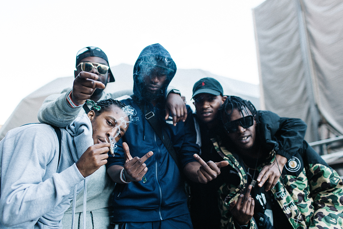 Vicky Grout_Section Boyz backstage at SonarVillage