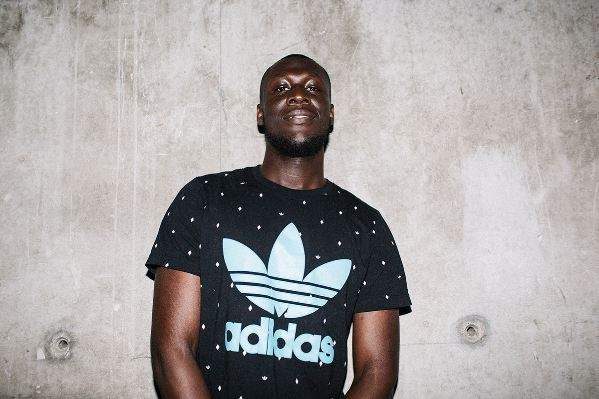 Vicky Grout_Stormzy backstage at SonarLab