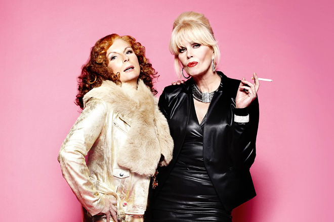 Kylie has recorded the Absolutely Fabulous movie theme