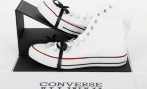 Converse has put a guitar pedal into a Chuck Taylor shoe