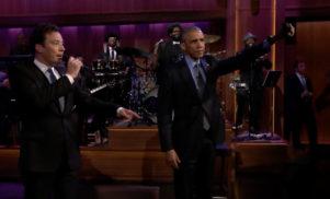 Watch President Obama slow jam the news