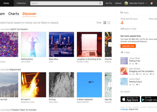 SoundCloud finally has a decent track recommendation system