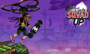 We played Lil Wayne's mobile skateboard game and learned that birds are your enemy