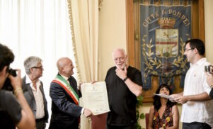 Pink Floyd's David Gilmour made honorary citizen of Pompeii