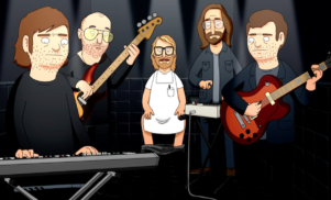 The National and Låpsley become Bob's Burgers characters