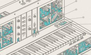 New print from UK studio Dorothy reveals the secret life of a Minimoog