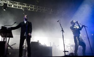 Massive Attack address Brexit at BTS festival, perform with Tricky