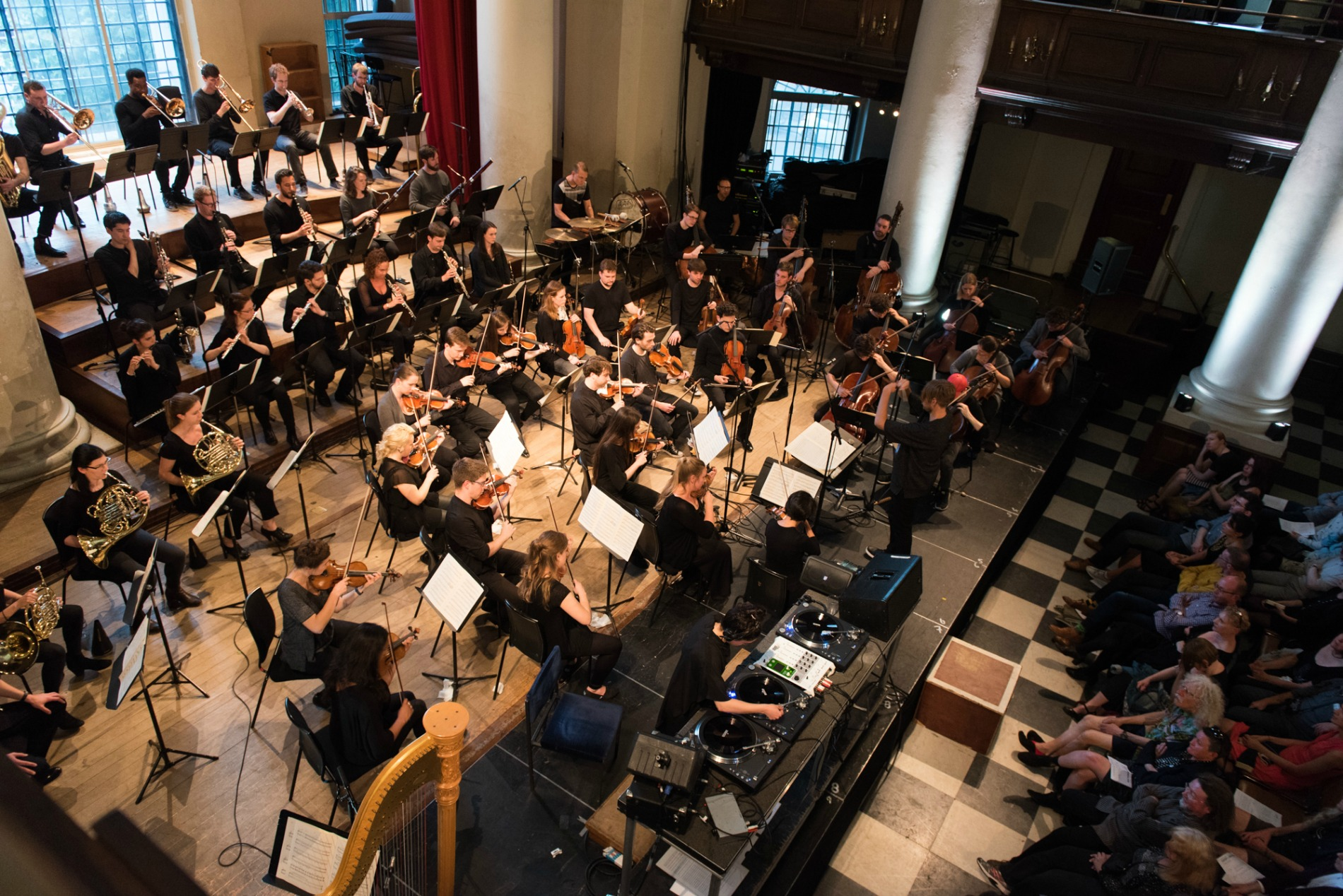 'Still Point' performance at St John's Smith Square