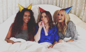 Spice Girls members Geri, Emma and Mel B have reunited as GEM