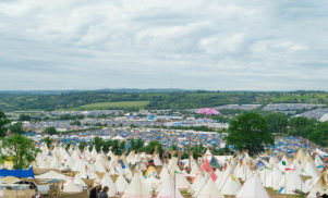 """Man who died in fire at Glastonbury was found """"ablaze"""" and """"doused in petrol"""""""
