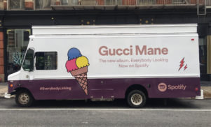 Spotify has bought Gucci Mane a real ice cream truck