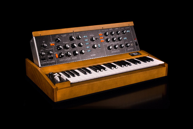 Moog's classic Minimoog Model D synth is back in production