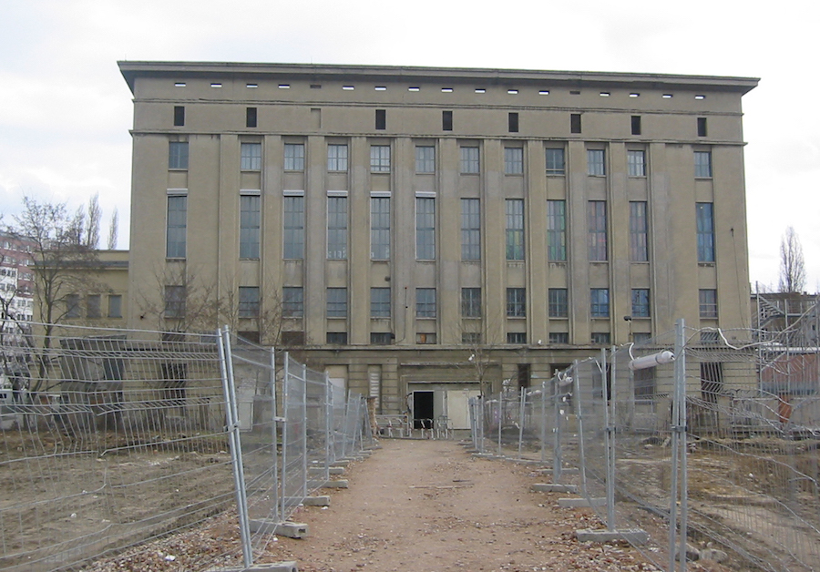 Berghain struck by lightning, naked chaos ensues