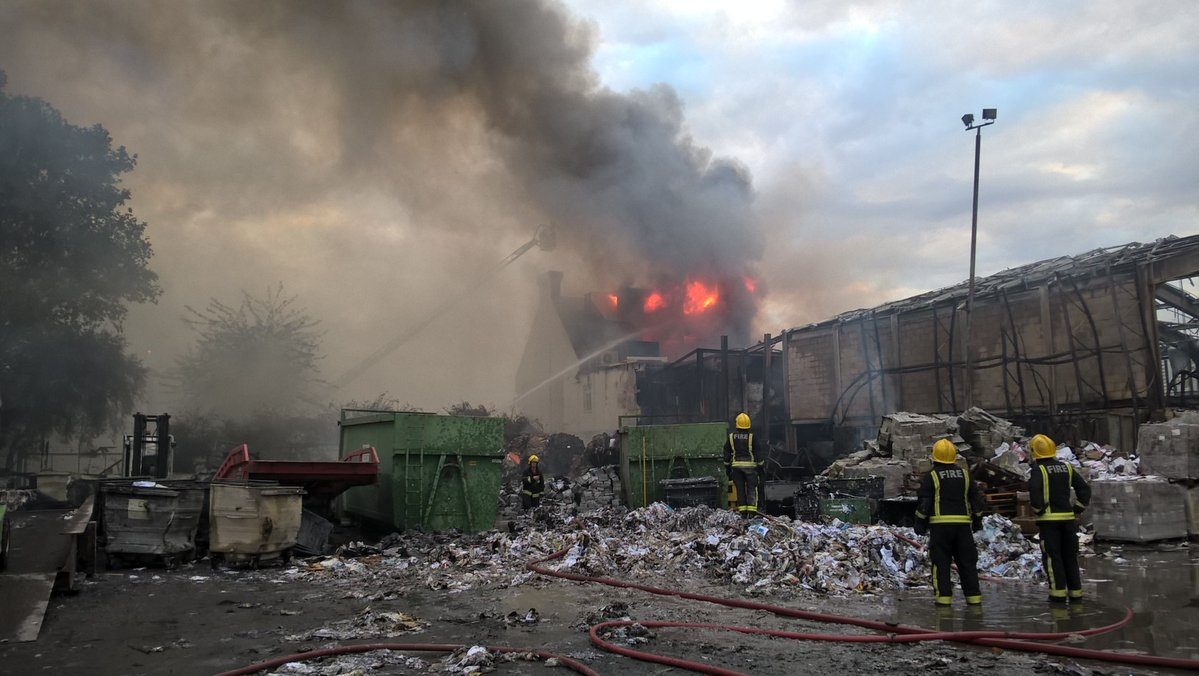 14 Arrested On Suspicion Of Arson After Blaze At London S