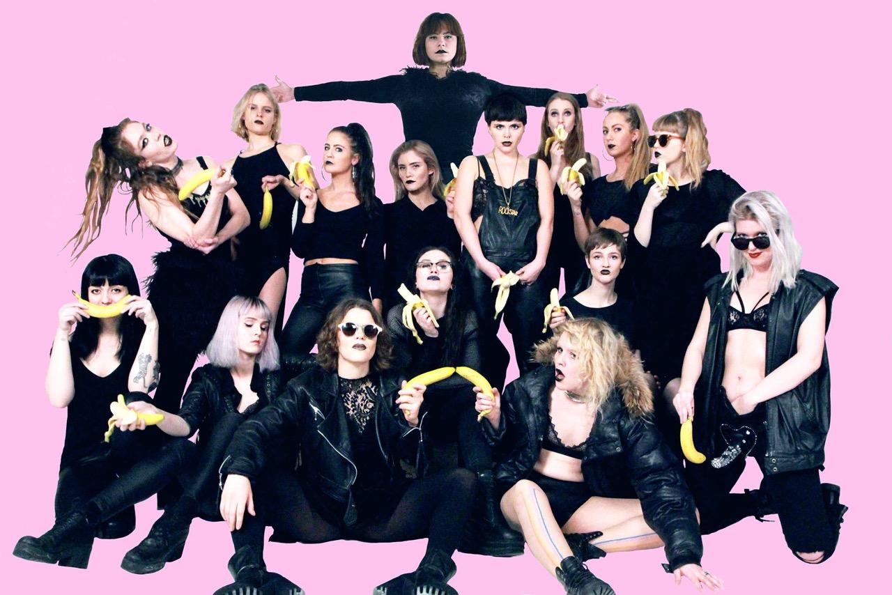 Feminist rap collective Reykjavíkurdætur