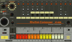 play an accurate replica of the tr 808 drum machine in your browser. Black Bedroom Furniture Sets. Home Design Ideas