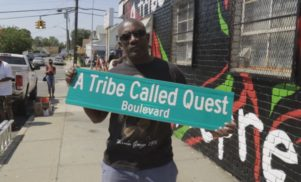 A Tribe Called Quest share documentary on 'Check The Rhime' mural