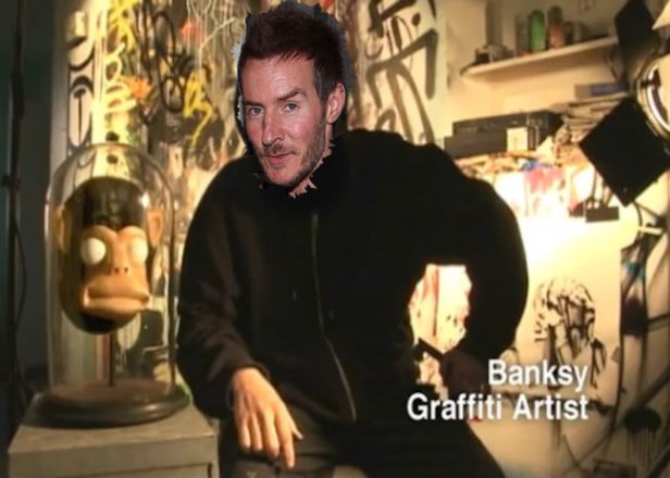 Massive Attack's 3D accused of being Banksy, Banksy accused of being multiple people