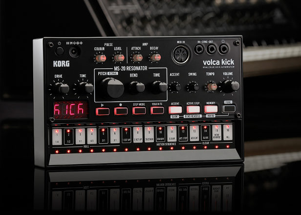 Korg announces Volca synth is an analog kick generator